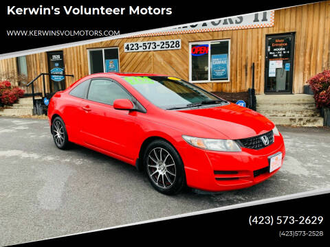 2010 Honda Civic for sale at Kerwin's Volunteer Motors in Bristol TN