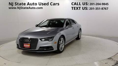 2017 Audi A7 for sale at NJ State Auto Auction in Jersey City NJ