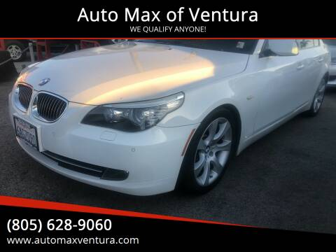 2008 BMW 5 Series for sale at Auto Max of Ventura in Ventura CA