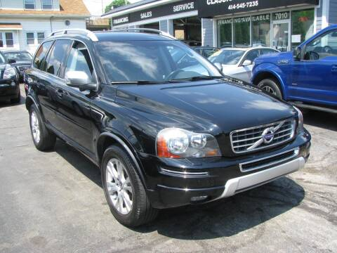 2013 Volvo XC90 for sale at CLASSIC MOTOR CARS in West Allis WI