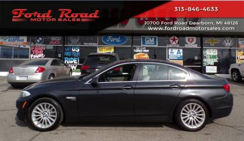 2012 BMW 5 Series for sale at Ford Road Motor Sales in Dearborn MI
