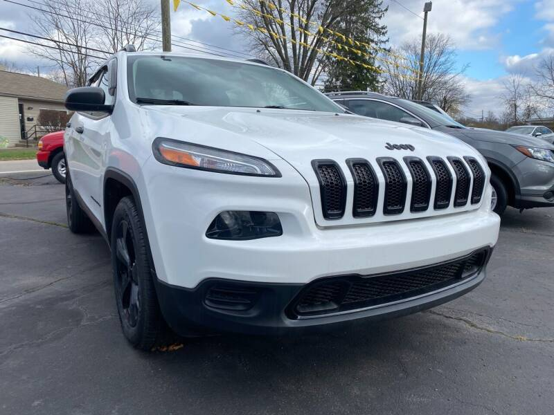 2017 Jeep Cherokee for sale at Auto Exchange in The Plains OH