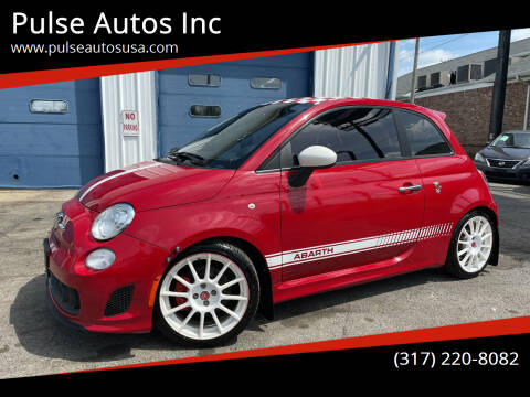 2013 FIAT 500 for sale at Pulse Autos Inc in Indianapolis IN