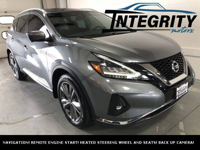 2020 Nissan Murano for sale at Integrity Motors, Inc. in Fond Du Lac WI