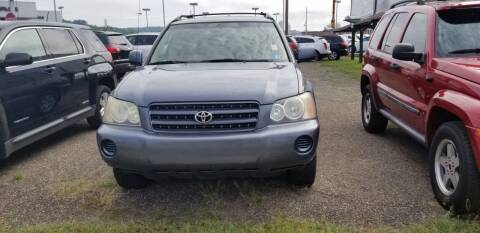 2002 Toyota Highlander for sale at Sissonville Used Cars in Charleston WV