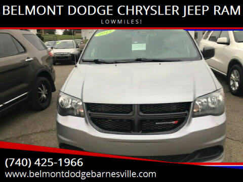 2015 Dodge Grand Caravan for sale at BELMONT DODGE CHRYSLER JEEP RAM in Barnesville OH