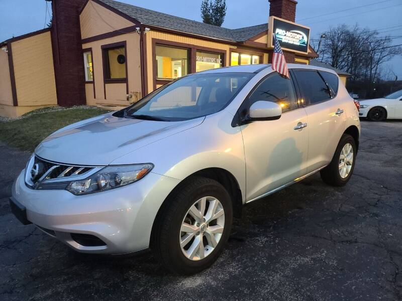 2013 Nissan Murano for sale at Pro Motors in Fairfield OH