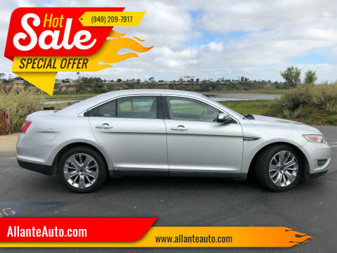 2011 Ford Taurus for sale at AllanteAuto.com in Santa Ana CA
