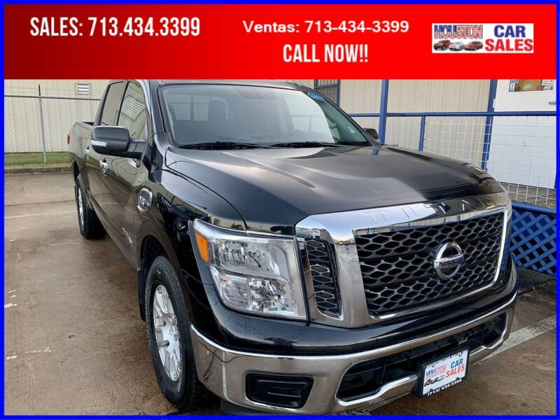 2017 Nissan Titan for sale at HOUSTON CAR SALES INC in Houston TX