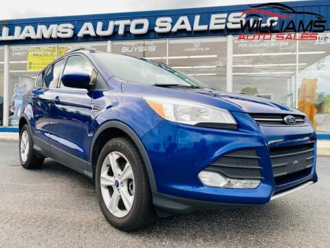 2014 Ford Escape for sale at Williams Auto Sales, LLC in Cookeville TN