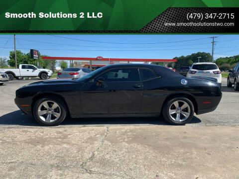 2016 Dodge Challenger for sale at Smooth Solutions 2 LLC in Springdale AR