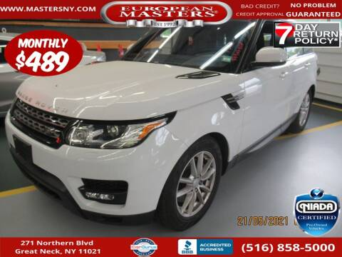2017 Land Rover Range Rover Sport for sale at European Masters in Great Neck NY