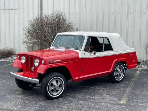 1968 Kaiser Jeep Jeepster  for sale at Drummond MotorSports LLC in Fort Wayne IN