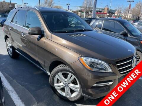 2014 Mercedes-Benz M-Class for sale at NATE WADE SUBARU in Salt Lake City UT