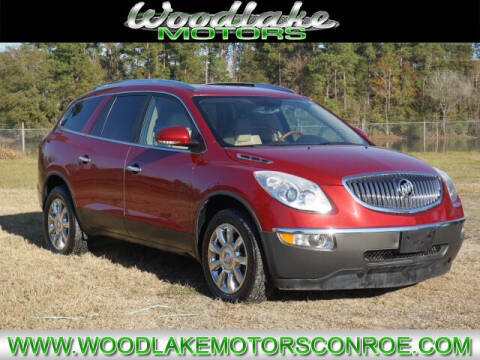 2012 Buick Enclave for sale at WOODLAKE MOTORS in Conroe TX