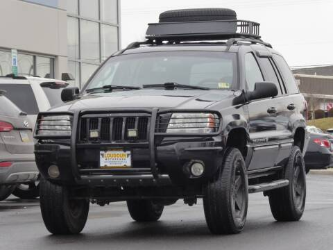 2004 Jeep Grand Cherokee for sale at Loudoun Motor Cars in Chantilly VA