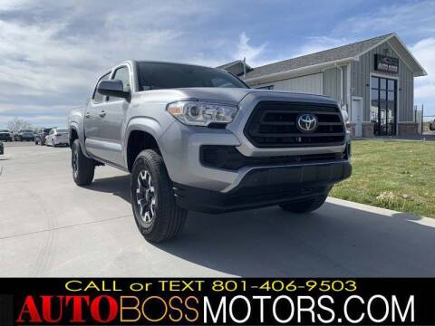 2021 Toyota Tacoma for sale at Auto Boss in Woodscross UT