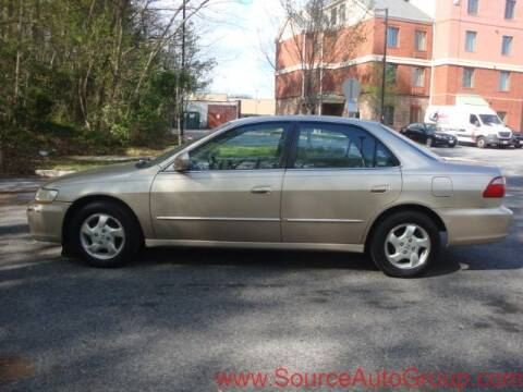 2000 Honda Accord for sale at Source Auto Group in Lanham MD
