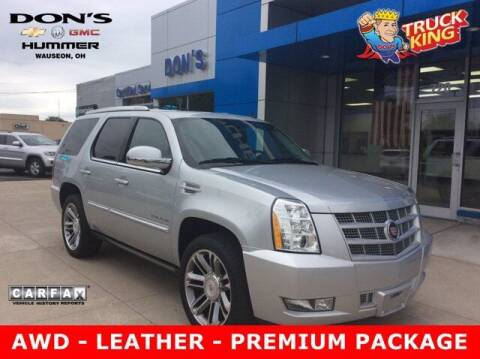 2013 Cadillac Escalade for sale at DON'S CHEVY, BUICK-GMC & CADILLAC in Wauseon OH