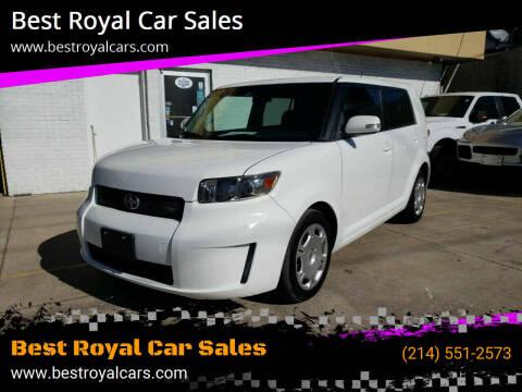 2008 Scion xB for sale at Best Royal Car Sales in Dallas TX