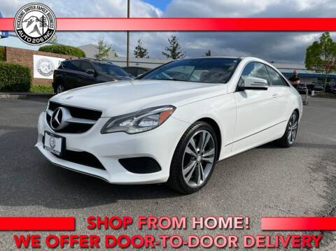 2015 Mercedes-Benz E-Class for sale at Auto 206, Inc. in Kent WA