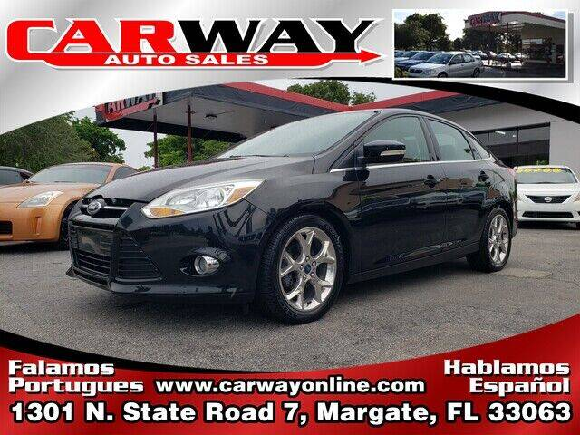 2012 Ford Focus for sale at CARWAY Auto Sales in Margate FL