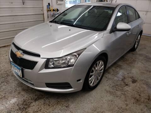 2012 Chevrolet Cruze for sale at Jem Auto Sales in Anoka MN