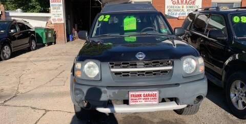 2002 Nissan Xterra for sale at Frank's Garage in Linden NJ