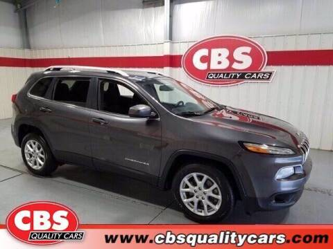 2017 Jeep Cherokee for sale at CBS Quality Cars in Durham NC