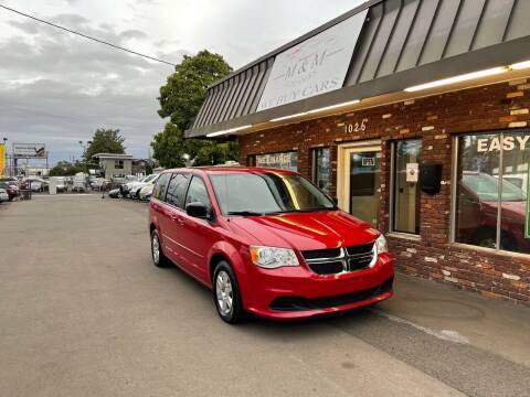 2012 Dodge Grand Caravan for sale at M&M Auto Sales in Portland OR