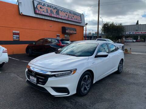 2019 Honda Insight for sale at City Motors in Hayward CA