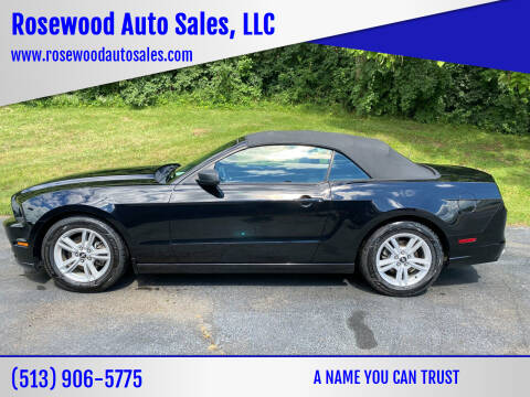 2014 Ford Mustang for sale at Rosewood Auto Sales, LLC in Hamilton OH