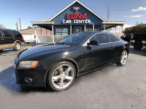 2012 Audi A5 for sale at LUNA CAR CENTER in San Antonio TX