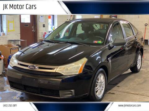 2008 Ford Focus for sale at JK Motor Cars in Pittsburgh PA