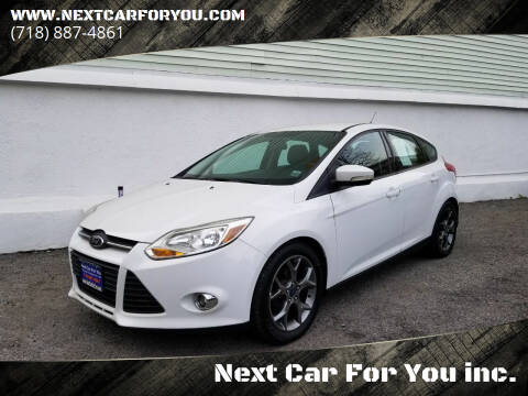 2014 Ford Focus for sale at Next Car For You inc. in Brooklyn NY