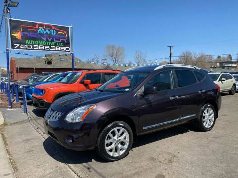 2013 Nissan Rogue for sale at AWD Denver Automotive LLC in Englewood CO