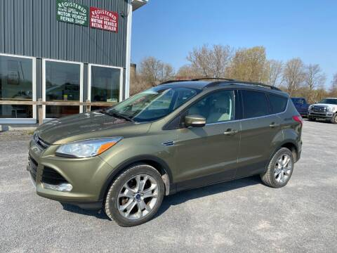 2013 Ford Escape for sale at Riverside Motors in Glenfield NY