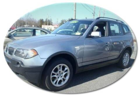 2004 BMW X3 for sale at Black Tie Classics in Stratford NJ