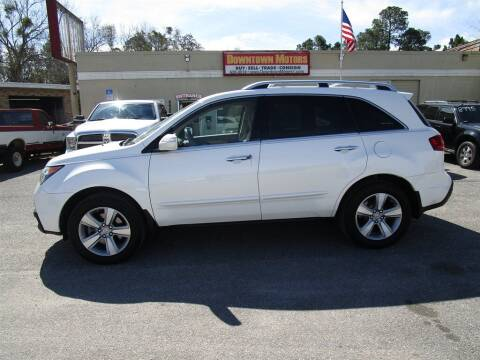 2012 Acura MDX for sale at DERIK HARE in Milton FL