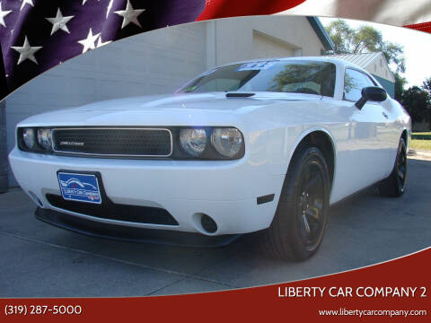 2011 Dodge Challenger for sale at Liberty Car Company - II in Waterloo IA