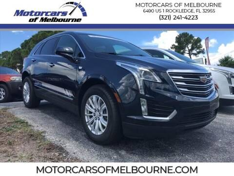 2017 Cadillac XT5 for sale at Motorcars of Melbourne in Rockledge FL