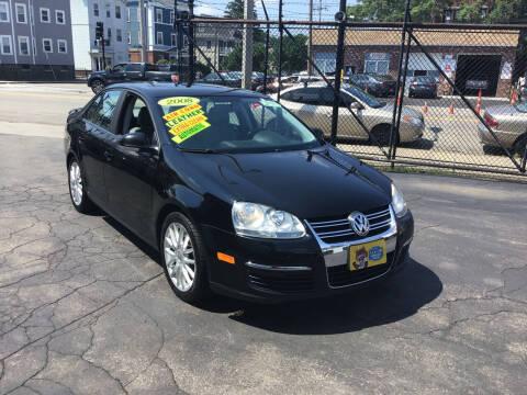 2008 Volkswagen Jetta for sale at Adams Street Motor Company LLC in Dorchester MA