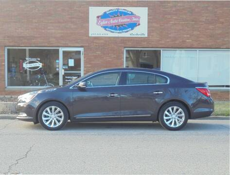 2015 Buick LaCrosse for sale at Eyler Auto Center Inc. in Rushville IL