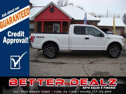2017 Ford F-150 for sale at Better Dealz Auto Sales & Finance in York PA