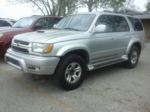 2001 Toyota 4Runner for sale at John 3:16 Motors in San Antonio TX