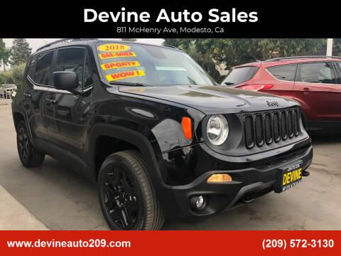 2018 Jeep Renegade for sale at Devine Auto Sales in Modesto CA
