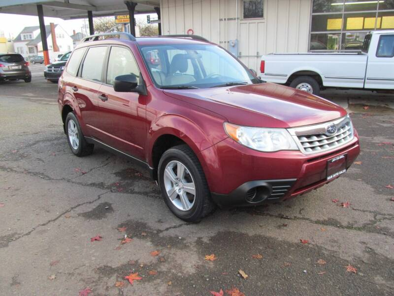 2012 Subaru Forester for sale at D & M Auto Sales in Corvallis OR