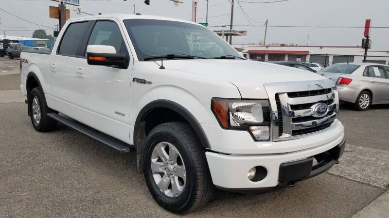 2011 Ford F-150 for sale at Seattle's Auto Deals in Everett WA