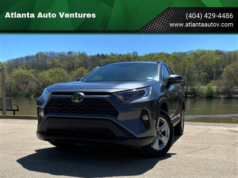 2020 Toyota RAV4 for sale at Atlanta Auto Ventures in Roswell GA