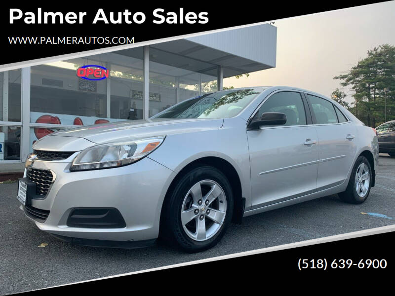 2015 Chevrolet Malibu for sale at Palmer Auto Sales in Menands NY